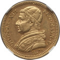 Italy:Papal States, Italy: Papal States. Gregory XVI gold 2-1/2 Scudi 1835-R Anno VAU55 NGC,...