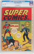 Golden Age (1938-1955):Humor, Super Comics V2#2 (F. E. Howard Publishing, 1943) CGC FN+ 6.5 Off-white to white pages....