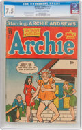 Golden Age (1938-1955):Humor, Archie Comics #11 (MLJ, 1944) CGC VF- 7.5 Off-white to white pages....