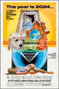 """A Boy and His Dog (Aquarius Releasing, 1975). One Sheet (27"""" X 41""""). Science Fiction"""