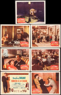 """Movie Posters:Film Noir, Knock on Any Door (Columbia, 1949). Title Lobby Card and (6) Lobby Cards (11"""" X 14""""). Film Noir.. ... (Total: 7 Items)"""