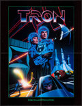 """Movie Posters:Science Fiction, Tron (Buena Vista, 1982). Promotional Giveaway (17"""" X 22""""). ScienceFiction.. ..."""