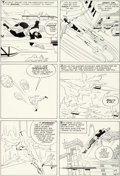 Original Comic Art:Panel Pages, Jack Kirby and Paul Reinman X-Men #1 Story Page 20 Original Art (Marvel, 1963). ...