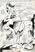 Original Comic Art:Splash Pages, Don Heck and Dick Giordano Wonder Woman #199 Splash Page 9Original Art (DC, 1972)....