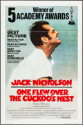 "Movie Posters:Academy Award Winners, One Flew Over the Cuckoo's Nest (United Artists, 1975).International One Sheet (27"" X 41""). Academy Award Style.. ..."