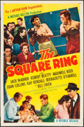 "Movie Posters:Sports, The Square Ring (Republic, 1955). One Sheet (27"" X 41""). Sports.. ..."