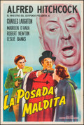 "Movie Posters:Hitchcock, Jamaica Inn (Paramount, R-1960s). Argentinean Poster (29"" X43.25""). Hitchcock.. ..."