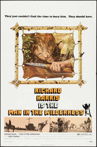 "Man in the Wilderness & Other Lot (Warner Brothers, 1971). Folded, Very Fine-. One Sheets (4) (27"" X 41"" &..."