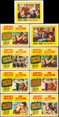 "Movie Posters:War, Battle Circus and Other Lot (MGM, 1953). Lobby Cards (9) (11"" X14""). War.. ... (Total: 9 Items)"
