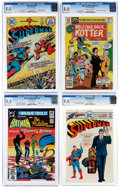 Bronze Age (1970-1979):Miscellaneous, DC Bronze and Modern Age Comics CGC-Graded Group of 4 (DC,1974-82).... (Total: 4 Comic Books)