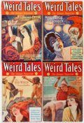 Pulps:Horror, Weird Tales Group of 8 (Popular Fiction, 1932) Condition: AverageGD.... (Total: 8 Items)