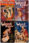 Pulps:Horror, Weird Tales Group of 5 (Popular Fiction, 1932-34).... (Total: 5Items)
