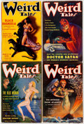 Pulps:Horror, Weird Tales Group of 12 (Popular Fiction, 1935-53) Condition:Average GD/VG.... (Total: 12 Items)