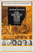 "Movie Posters:Drama, The Greatest Story Ever Told (United Artists, 1965). One Sheet (27"" X 41""). Drama.. ..."