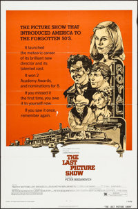 """The Last Picture Show (Columbia, R-1974). One Sheet (27"""" X 41""""). Drama"""