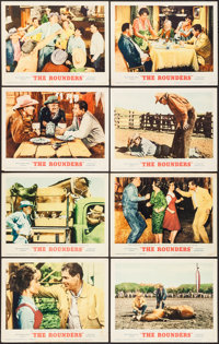 """The Rounders (MGM, 1965). One Sheets (2) (27"""" X 41"""") Regular & Military Styles & Lobby Card Se..."""
