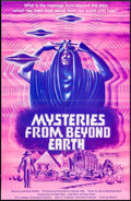 "Movie Posters:Documentary, Mysteries from Beyond Earth & Other Lot (Warner Brothers, 1975). One Sheets (3) (24"" X 38"", 27"" X 41""). Documentary.. ... (Total: 3 Items)"