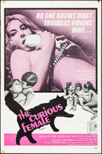 """The Curious Female & Others Lot (Fanfare, 1969). One Sheets (3) (27"""" X 41""""). Adult. ... (Total: 3 Items)"""