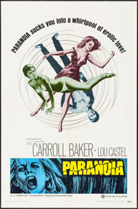 """Paranoia & Other Lot (Commonwealth United, 1969). Folded, Overall: Very Fine-. One Sheets (2) (27"""" X 41&quo..."""
