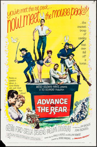 """Advance to the Rear & Other Lot (MGM, 1964). One Sheets (2) (27"""" X 41""""). Comedy. ... (Total: 2 Items)"""