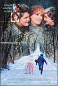 """Movie Posters:Drama, Men Don't Leave & Other Lot (Warner Brothers, 1990). Folded,Very Fine-. One Sheets (4) (27"""" X 40"""" & 27"""" X 41""""). Dram..."""