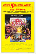 "Movie Posters:Academy Award Winners, The Deer Hunter (Universal, 1978). One Sheet (27"" X 41""). AcademyAwards Style. War.. ..."