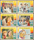 "Movie Posters:Musical, Happy Go Lucky (Paramount, 1943). Lobby Cards (6) (11"" X 14""). Musical.. ... (Total: 6 Items)"