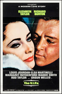 """The V.I.P.s & Other Lot (MGM, 1963). One Sheets (2) (27"""" X 41""""). Drama. ... (Total: 2 Items)"""