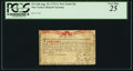 Colonial Notes:New York, New York August 25, 1774 (Water Works) 1s PCGS Very Fine 25.. ...