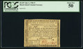Colonial Notes:Rhode Island, Fully Signed Rhode Island July 2, 1780 $7 PCGS About New 50.. ...