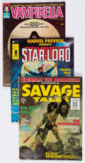 Magazines:Miscellaneous, Marvel Magazines Group of 3 (Marvel, 1969-76).... (Total: 3 ComicBooks)