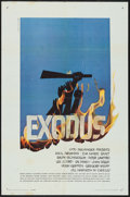 "Movie Posters:Drama, Exodus (United Artists, 1960). One Sheet (27"" X 41"") & Lobby Cards (9) (11"" X 14""). Drama.. ... (Total: 10 Items)"