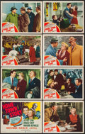 "Movie Posters:Drama, Home Town Story (MGM, 1951). Lobby Card Set of 8 (11"" X 14"").Drama.. ... (Total: 8 Items)"