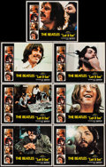 "Movie Posters:Rock and Roll, Let It Be (United Artists, 1970). Lobby Cards (7) (11"" X 14""). Rockand Roll.. ... (Total: 7 Items)"