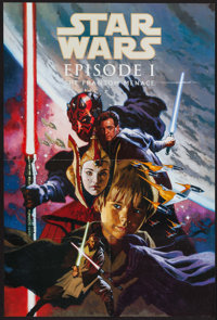 Star Wars: Episode I - The Phantom Menace & Others Lot (Dark Horse Comics, 1999) DS. Promotional Posters (3) (24&quo...