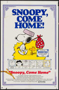 "Movie Posters:Animation, Snoopy, Come Home! & Other Lot (National General, 1972). Folded, Overall: Fine+. One Sheets (3) (27"" X 41""). Charles Schulz ... (Total: 3 Items)"