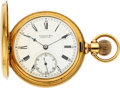 Timepieces, E. Howard & Co. Boston 18k Gold Series V Hunters Case. ...