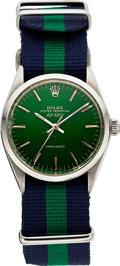Timepieces, Rolex Air-King Stainless Steel 1960 Men's Ref 5500. ...