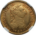 Colombia, Colombia: Charles III gold 2 Escudos 1764 NR-JV AU53 NGC,...