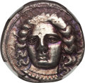 Ancients:Greek, Ancients: CILICIA. Tarsus. Satrap Pharnabazus (380-374/3 BC). ARstater (10.63 gm). NGC AU 4/5 - 3/5....