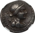 Ancients:Greek, Ancients: TROAS. Abydus. Ca. 175-75 BC. AR tetradrachm (16.54 gm).NGC XF 4/5 - 4/5....