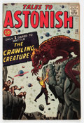 Silver Age (1956-1969):Horror, Tales to Astonish #22 (Marvel, 1961) Condition: FN-....