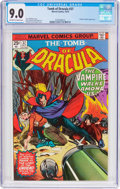 Bronze Age (1970-1979):Horror, Tomb of Dracula #37 (Marvel, 1975) CGC VF/NM 9.0 Off-white to whitepages....