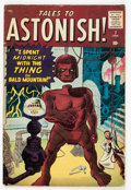 Silver Age (1956-1969):Mystery, Tales to Astonish #7 (Marvel, 1960) Condition: GD/VG....