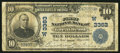 National Bank Notes:Kansas, Great Bend, KS - $10 1902 Plain Back Fr. 624 The First NB Ch. # (W)3363. ...