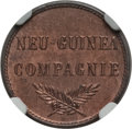 German New Guinea:German Colony, German New Guinea: German Colony. Wilhelm II Pfennig 1894-A MS64 Red and Brown NGC,...