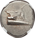 Ancients:Greek, Ancients: LYCIA. Phaselis. Ca. 4th century BC. AR stater (10.38gm). NGC MS 4/5 - 4/5, die shift....
