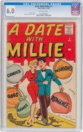 Silver Age (1956-1969):Humor, A Date With Millie #1 (2nd series) (Atlas/Marvel, 1959) CGC FN 6.0 Off-white pages....