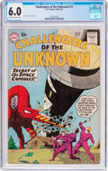 Silver Age (1956-1969):Adventure, Challengers of the Unknown #17 (DC, 1961) CGC FN 6.0 Off-white to white pages....