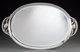 A Georg Jensen Silver Blossom Pattern Oval Serving Tray, designed 1919, circa 1930 Marks: 925.S, GEORGE JENSE... (1)